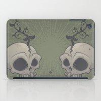 Skull Garden iPad Case