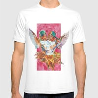 The Ultimate Pollinator Mens Fitted Tee White SMALL