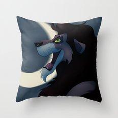 Scar the Lion Throw Pillow