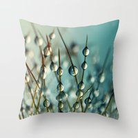 Cactus Craze II Throw Pillow