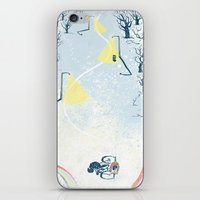Winter Cycling iPhone & iPod Skin