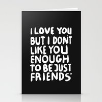 JUSTFRIENDS Stationery Cards