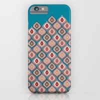 iPhone Cases featuring Eyes of Argus (Blue) by maritta jones design