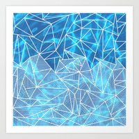 Blissful Rays Art Print