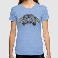 RUFUS (has A Heart That … Womens Fitted Tee Athletic Blue SMALL