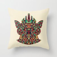 Dimensional Traveller I Throw Pillow
