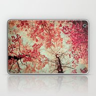 Laptop & iPad Skin featuring Autumn Inkblot by Olivia Joy StClaire