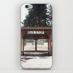 Slocan City Bus Stop iPhone & iPod Skin
