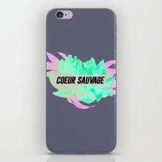 sauvage iPhone & iPod Skin