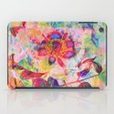abstract anemone iPad Case