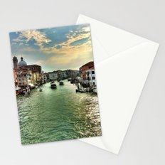 Sunrise on the Grand Canal, Venice Stationery Cards