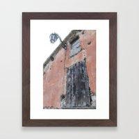 Earth tones in Italy Framed Art Print