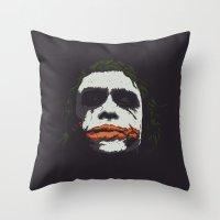 J. Throw Pillow