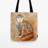 Armenia Cat - Watercolor Tote Bag