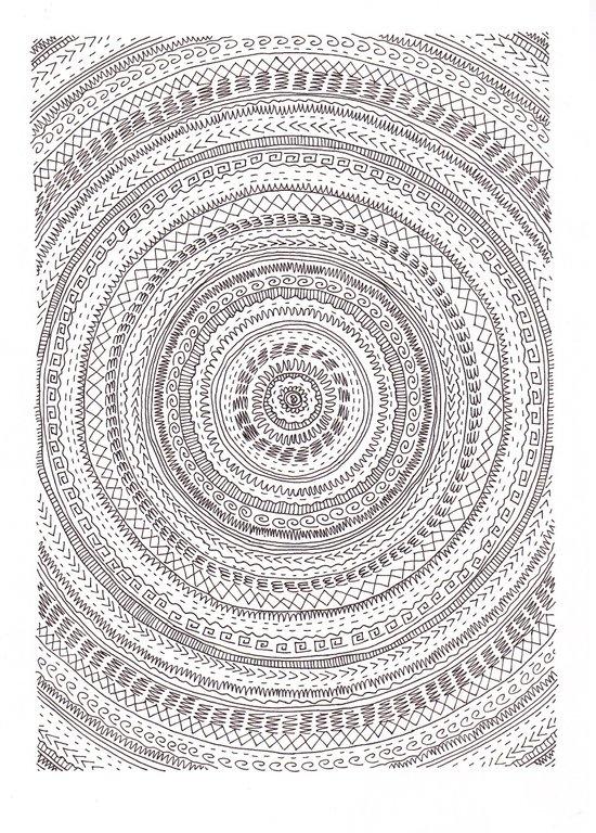 lines lines lines.. Art Print