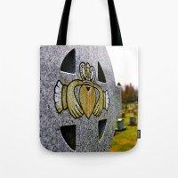 Graveyard Claddagh Tote Bag