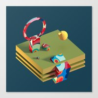 Much Ado in Candyland Canvas Print
