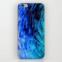 RUFFLED BLUE iPhone & iPod Skin