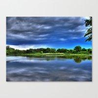 Rock Cut State Park - HDR Canvas Print