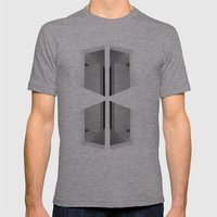 There. Macba, Barcelona Mens Fitted Tee Athletic Grey SMALL