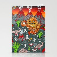 Volcano Lands Stationery Cards