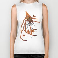 Insect In Ink 01 Biker Tank