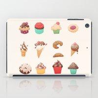Desserts iPad Case