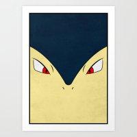 #157 Typhlosion - Pokemo… Art Print