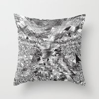 Black Anything Throw Pillow