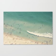 beach love II - Nazare Canvas Print