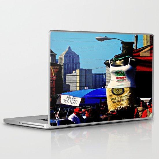 Strip District Model Laptop & iPad Skin
