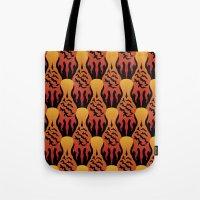 SCORCH Pattern [BLACK] Tote Bag