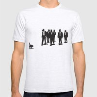 Reservoir Dogs Mens Fitted Tee Ash Grey SMALL