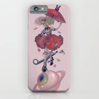 iPhone & iPod Case featuring Landed by zihling