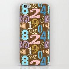 Numberology iPhone & iPod Skin