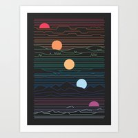 Many Lands Under One Sun Art Print