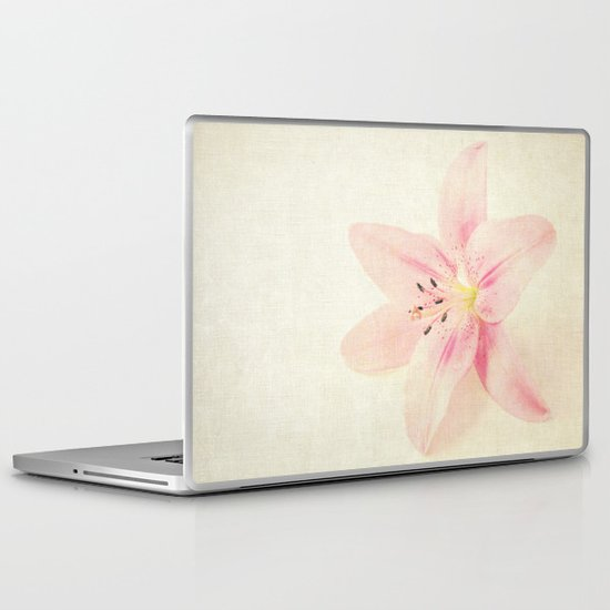 Flower On a Canvas  Laptop & iPad Skin