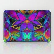 Floral Fractal Art G308 iPad Case
