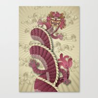 dragon delight Canvas Print