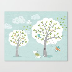 Windy Day Canvas Print