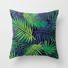 Jungle Night Throw Pillow