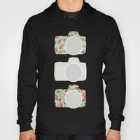 Floral & Polka Dot Camer… Hoody