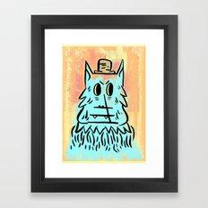 Wolf man!  Framed Art Print
