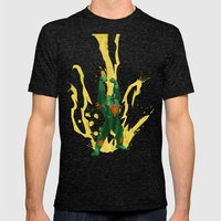 Call Me, Jimmy (Homage to Blanka from Street Fighter) Mens Fitted Tee Tri-Black SMALL
