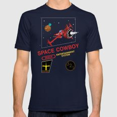NES Cowboy Bebop Mens Fitted Tee Navy SMALL