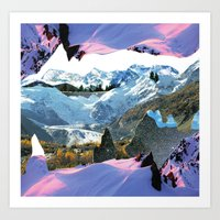 Experiment am Berg 30 Art Print