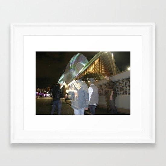 transparent Framed Art Print