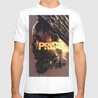 Pride & Reggae Mens Fitted Tee White SMALL