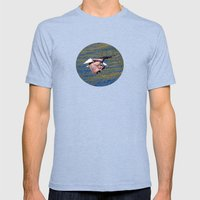 Eagle: Low Level Mission Mens Fitted Tee Tri-Blue SMALL