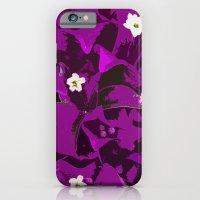 Bouganvilla delight iPhone 6 Slim Case
